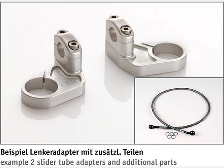 LSL Superbike Kit BMW K1200RS 97- Silver