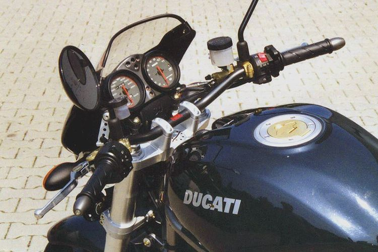 Superbike Kit Ducati Ducati Monster S4 Zilver