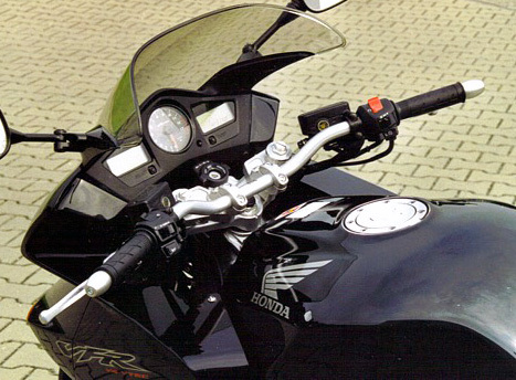 LSL Superbike Kit Honda VFR800 02- Voorvork 43 mm Zilver