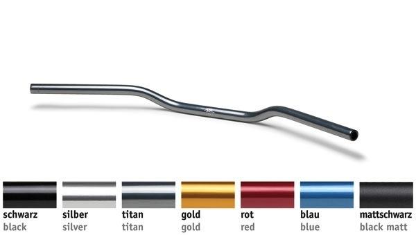 Black for sale online LSL 122A002SW Naked Bike Handlebar for Kawasaki A7 350