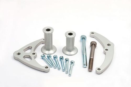 LSL Crash-Pad Mounting Kit CBR 500R / CB 500F 13 - met adapterplaten