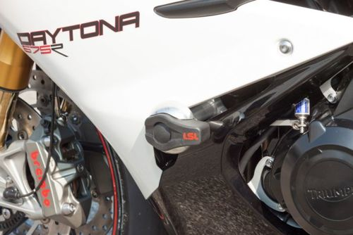 LSL Crash-Pad Mounting Kit TRIUMPH Daytona 675R ab 13 Silver
