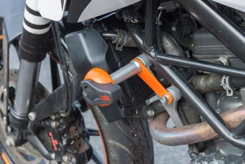 Crash-Pad Montagekit KTM Duke 125 / 200