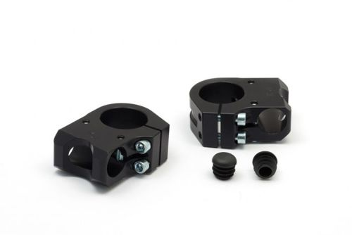 LSL Fork Clamps Sport Match Black 50 mm