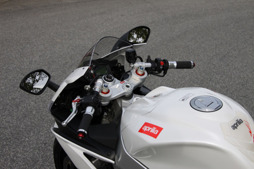 Clip-On set Twin Match Aprilia RSV 4 R ( RK) 10-