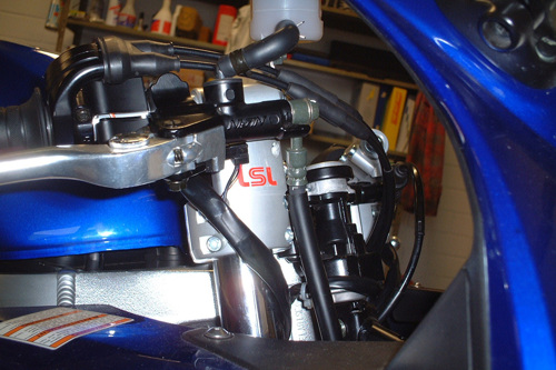 LSL Clip-On set Tour Match Suzuki SV 650S /SA ( WVBY) 03-08