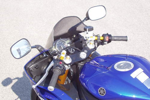 Clip-On set Tour Match Yamaha YZF-R6 ( RJ11) 06-07